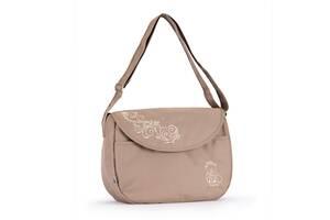 Вместительная сумка - почтальон на детскую коляску Baby Breeze 0355 капучино
