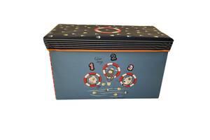 Ящик-пуф для игрушек Baby Comfort Собачки-рыболовы
