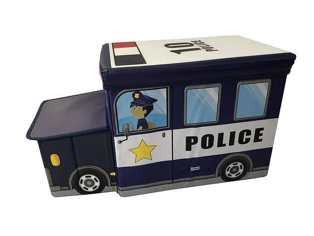продам Ящик-пуф для игрушек Baby Comfort Полицейская машина бу в Одессе