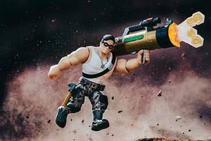 Роблокс игровой набор с фигуркой Imagination Figure Pack Davy Bazooka W8 Jazwares Roblox (ROB0273)