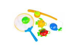 Игрушка для ванной BeBeLino Рыбалка с удочкой и сачком (58077)