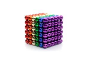 Игрушка-конструктор Цветной НеоКуб (5 мм.) 216 шариков
