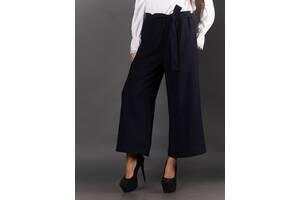 Женские брюки-кюлоты с поясом Plus Size 2020