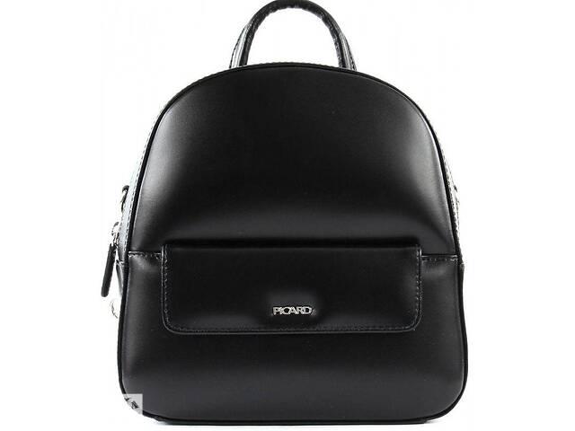 продам Женский кожаный рюкзак Picard Berlin 4 л, черный бу в Киеве