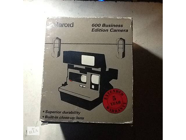 купить бу Продам фотоапарат Polaroid 600 Business Edition Camera в Харкові