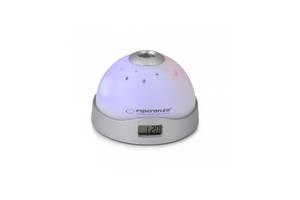 Часы проекционные Esperanza Cassiopeia EHC001 Серые (gr_008558)