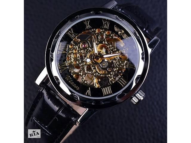 Годинник Winner Skeleton black - Годинники в Львові на RIA.com 124ea1595ce71