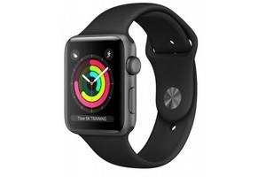 Смарт-часы Apple Watch Series 3 GPS, 38mm Space Grey Aluminium Case with Blac (MTF02FS/A)