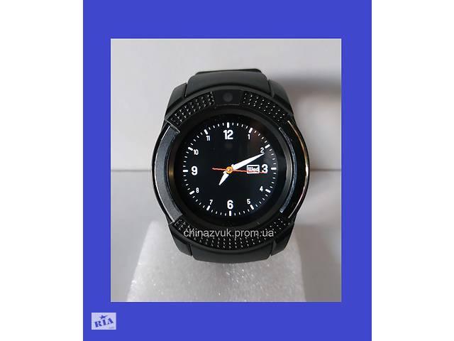 бу Умные смарт-часы Smart Watch V8 Black в Киеве