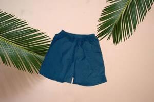 Adidas мужские повседневные/ спортивные шорты без подкладки т синие М