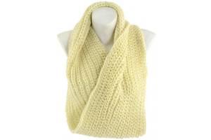 Акриловый женский шарф-снуд Traum 2482-24 молочный