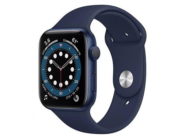 продам Apple Watch Series 6 GPS 40mm Blue Aluminum Case w. Deep Navy Sport B. (MG143) бу в Харькове