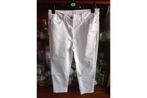 Белые капри M&S размер 16