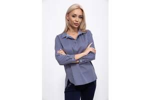 Блуза 115R220-2 цвет Темно-синий