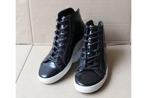 Ботинки ecco soft 7 430434 лакована кожа оригінал