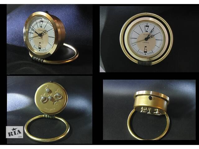 Часы будильник Слава СССР Экспортная модель Исправные Замечательное состояние!!!