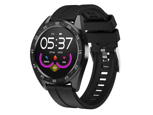продам Часы фитнес-трекер UWatch Smart Watch X10 Fitness с пульсометром Черный бу в Киеве