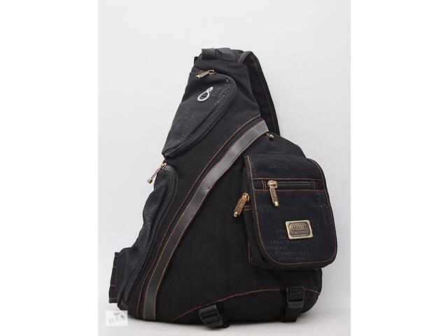 продам Чоловічий повсякденний міський рюкзак через плече на одну лямку  Gold Be / GoldBe бу в Днепре (Днепропетровск)