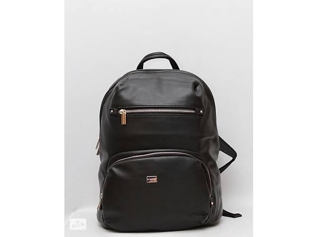 бу Кожаный мужской рюкзак (кожа искусственная) рюкзак David Jones / Дэвид Джонс в Дубно