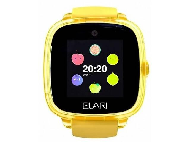 купить бу Cмарт-часы Elari KidPhone KP-F Fresh Yellow (Код товара:15069) в Харькове