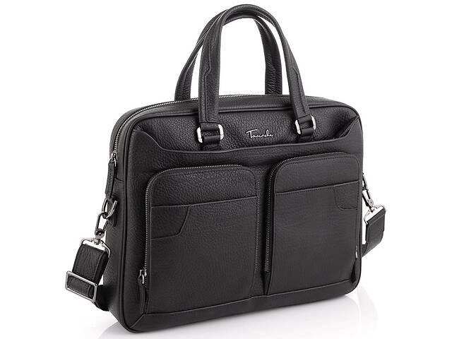 Деловая мужская кожаная сумка для ноутбука Tavinchi TV-1001A- объявление о продаже  в Киеве