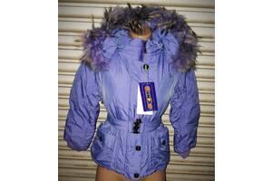 Детская демисезонная куртка с капюшоном