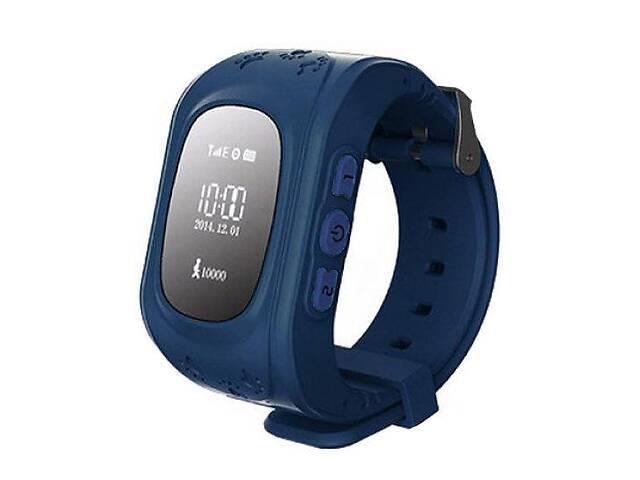 Детские часы-телефон с GPS трекером BabyWatch Q50 Темно-синие (Q50_darkblue)- объявление о продаже  в Киеве