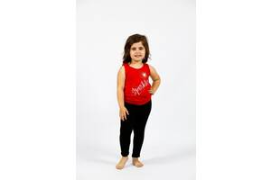 Детские однотонные черные лосины-брюки для девочки  Cat & Jack
