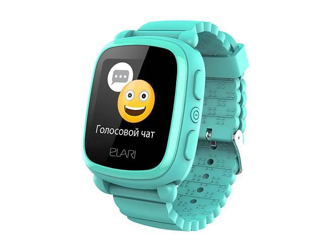 бу Детские смарт-часы Elari KidPhone 2 с GPS-трекером Green (KP-2G) в Киеве