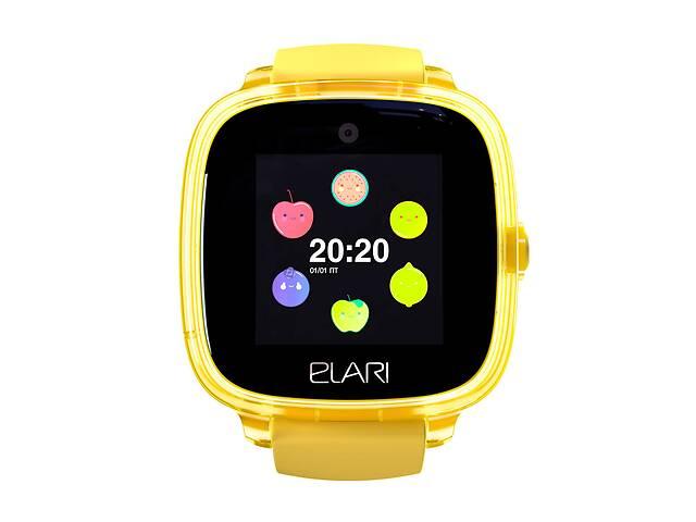 бу Детские смарт-часы Elari KidPhone Fresh Yellow с GPS-трекером (KP-F/Yellow) в Киеве