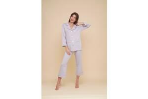Домашній костюм жіночий MODENA MOD DK151-6 S Сірий
