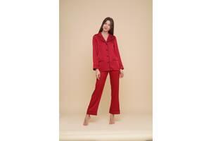 Домашний женский костюм MODENA DK150-1 L Красный