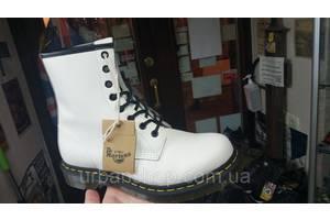 Dr. martens 1460 white білі черевики