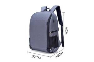 Фоторюкзак великий + дощовик, сумка фото рюкзак (краща ціна)