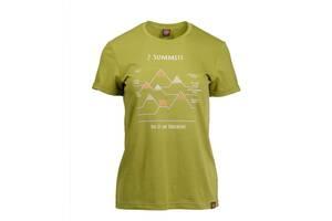 Футболка жіноча Turbat 7 SUMMITS XS Green (012.004.0934)