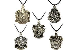 Гарри Поттер кулоны со знаками Hogwarts, Гриффиндор, Слизирин и т.д.