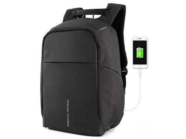 продам Городской рюкзак Mark Ryden Safe, MR_5815, 16 л, антивор, черный бу в Киеве