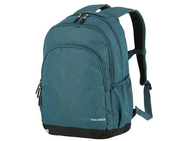 купить бу Городской рюкзак тканевый Travelite зеленый на 22л в Киеве