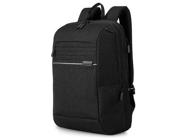 купить бу Городской рюкзак из ткани Hedgren Lineo черный на 20л в Киеве