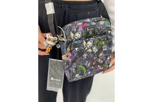 Кастомная сумка через плече с ярким принтом OverWatch Toki Doki