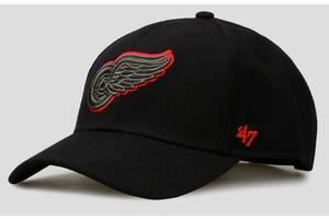 Кепка 47 Brand Detroit Red Wings Snapback (H-MVPSP05WBP-BK)