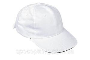 Кепка (бейсболка) хлопок Tulle 100% Сotton белая