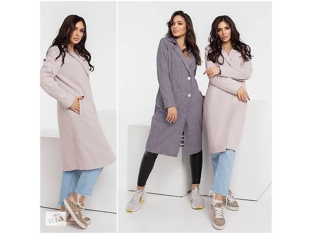 бу Классическое женское пальто демисезонное кашемировое застёгиваеться на две пуговицы 4 цвета С М Л в Харькове