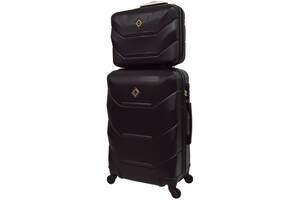 Комплект чемодан + кейс Bonro 2019 (небольшой) черный