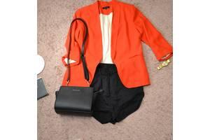 Красный пиджак без пуговиц New Look