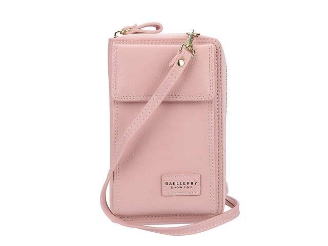 бу Кошелек-клатч-сумочка Baellerry Young 3 в 1 Розовый, оригинал в Черкассах