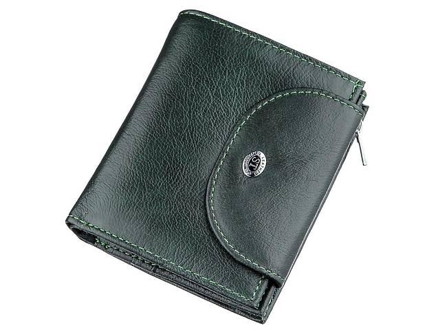 Кошелек женский кожаный ST Leather 18958 Зеленый, Зеленый- объявление о продаже  в Киеве