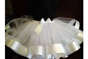 костюм метелик фея хмаринка cпідничка юбка біла фатінова 3-7
