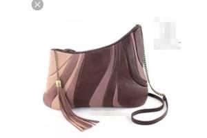 кожаная эксклюзивная сумочка от дизайнера Diana Ulanova