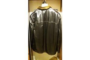 Кожаная мужская куртка  размер ХL